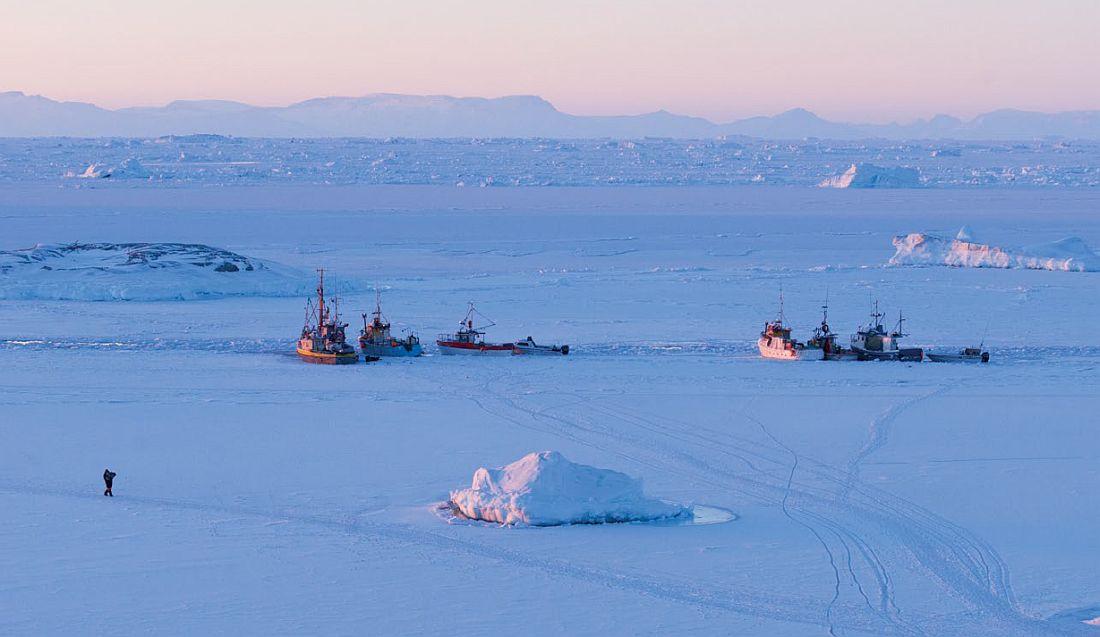 Ilulissat sea ice